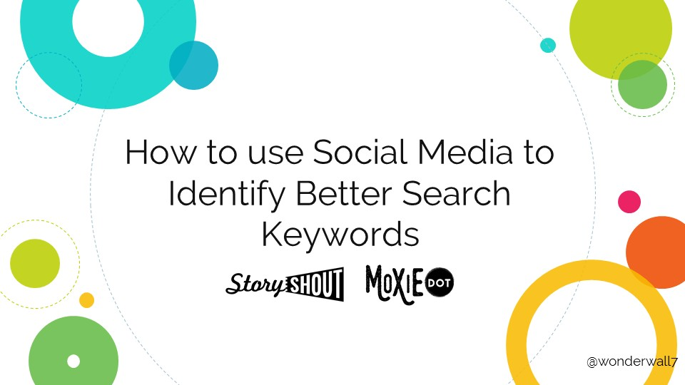 How to Use Social Media to Identify Better Search Keywords [PRESENTATION]