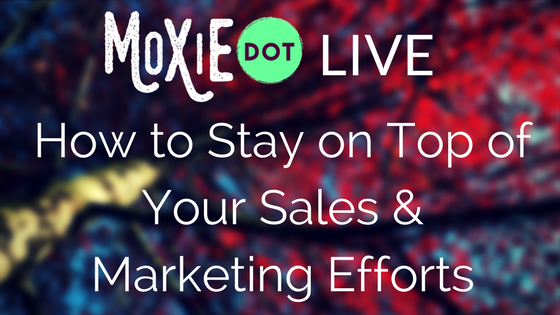 How to Stay on Top of Sales & Marketing For Your Business