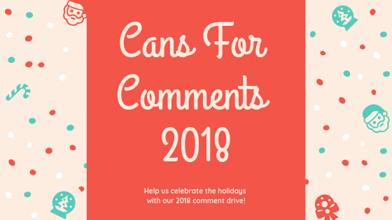 Cans For Comments: Donate $1 to Harvesters Food Bank by Commenting on This Blog Post